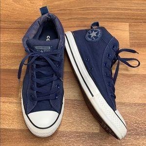 Converse | Chuck Taylors | Navy Blue | High Top